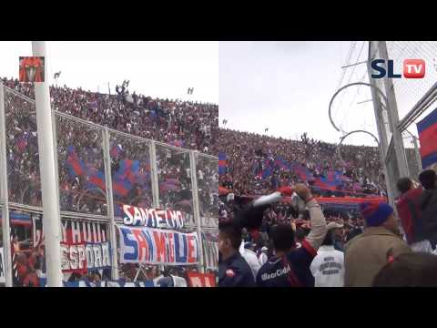 Hinchada de San Lorenzo explota a dos cámaras - San Lorenzo TV - La Gloriosa Butteler - San Lorenzo