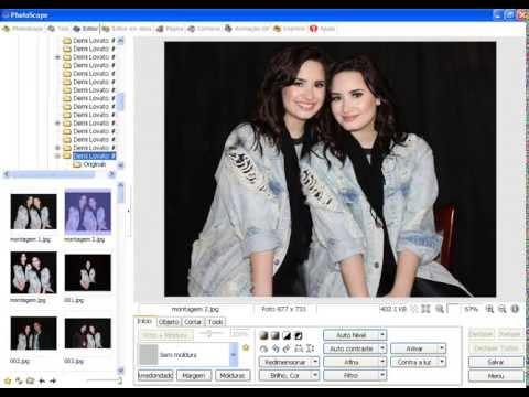 Como fazer Montagem Vc e de seu Idolo no  PhotoScape!!