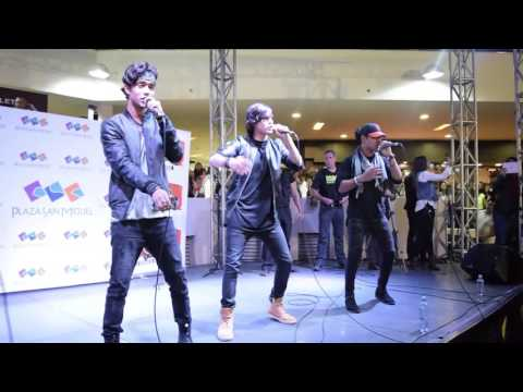 Presentación de CNCO en Perú - Plaza San Miguel #OndaCeroFM