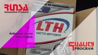 Activación, carga e instalación de tu moto-batería