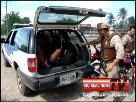 MOTO ROUBADA EM RIO REAL HOMEM PRESO.mpg
