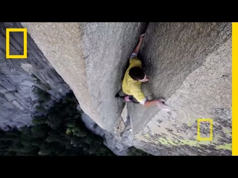 National Geographic - Alex Honnold Free Soloing