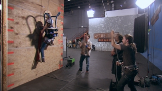 Build Your Own Wall Climber and Live Like Spiderman! | MythBusters: The Search by Science Channel