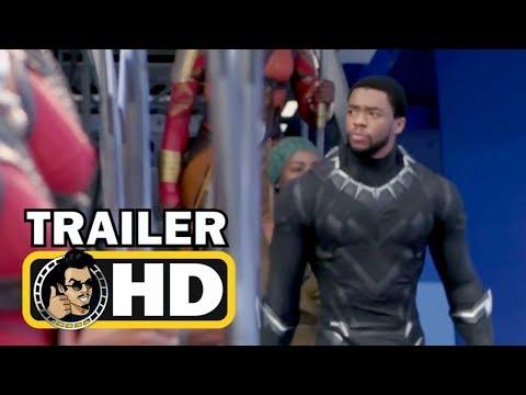 "BLACK PANTHER -  Official ""Origins"" Featurette Trailer (2018) Marvel Superhero Movie HD"