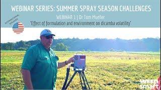 Video Webinar Series: Summer Spray Season Challenges  |  Webinar 1: Dr Tom Mueller MP3, 3GP, MP4, WEBM, AVI, FLV November 2017