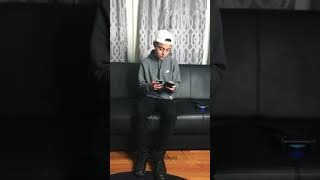 Do not disturb challenge/ 15 year old Calls and raps to ex(deep), must see.