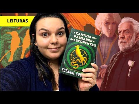 JOGOS VORAZES: o novo livro é bom? A Cantiga dos Pássaros e das Serpentes