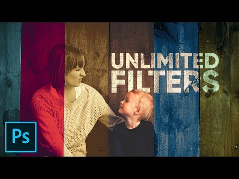 Unlock UNLIMITED FILTERS in Photoshop!
