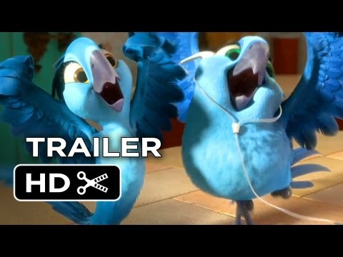Rio 2 Official Trailer #1 (2014) – Jamie Foxx Animated Sequel HD