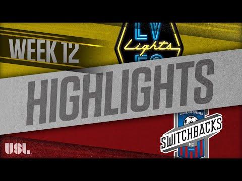 Las Vegas Lights - Колорадо Спрингс 4:1. Видеообзор матча 03.06.2018. Видео голов и опасных моментов игры