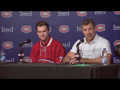 Video: Drouin excited for Bell Centre to be home arena