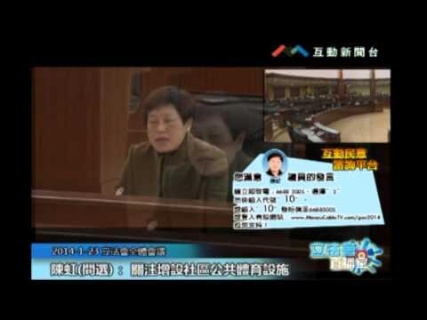 陳虹20140123立法會議