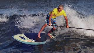 Learn more about the GL Surf stand up paddle, a collaboration between Pipeline surf legend Gerry Lopez and KIALOA paddle...