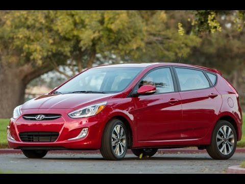 2015 Hyundai Accent Start Up and Review 1.6 L 4-Cylinder