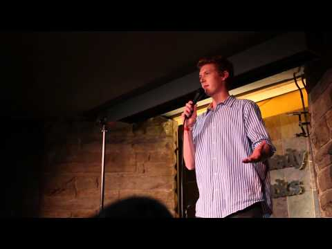 Jamison Lonergan Comedy Works debut, October 2013