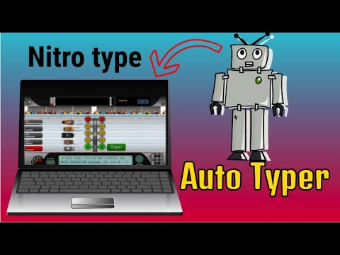 Nitro type New speed hack (extension 2019)