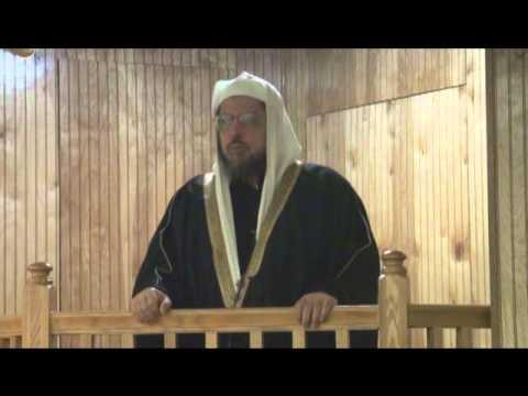 1-13-12 خطبة الجمعة للشيخ وليد المنيسي