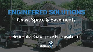 Crawlspace Encapsulation - Crawl Space To Basement Conversion Marietta, GA - Engineered Solutions