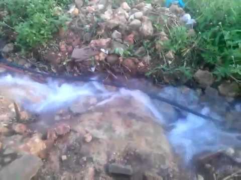 Desperdício de água em Uruçuí pela Agespisa