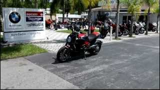 8. 2012 Ducati Diavel carbon red