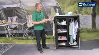 Outwell Martinique Wardrobe (2013) This is a portable wardrobe with removable shelves to help improve your...