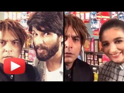 Shahid Alia's 'Shopkeeper' Dubsmash with Gaurav Ge