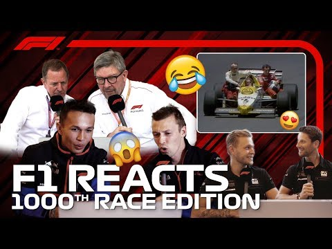 F1 Reacts: Drivers And Pundits Re-Live F1's Greatest Moments | Race 1000 - Thời lượng: 10 phút.