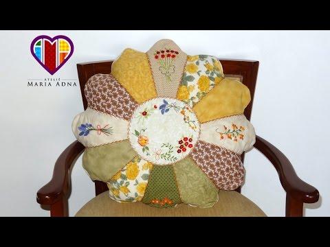 patchwork - cuscino fiore