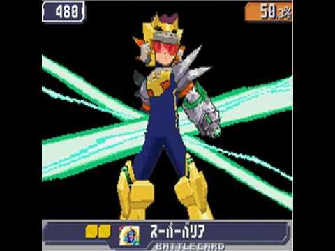 Ryuusei no Rockman 3/Megaman Starforce 3 Black Ace Boss: Moon Disaster