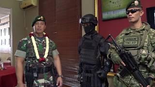 Video Pangkostrad Letjen TNI Andika Perkasa mengunjungi Markas  Brigif PR 17 MP3, 3GP, MP4, WEBM, AVI, FLV Januari 2019