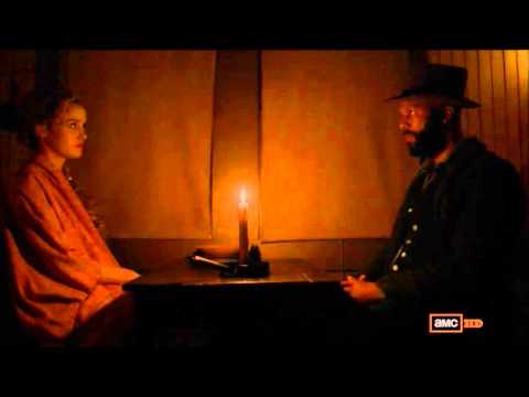Elam & Lily Have A Talk - Hell On Wheels