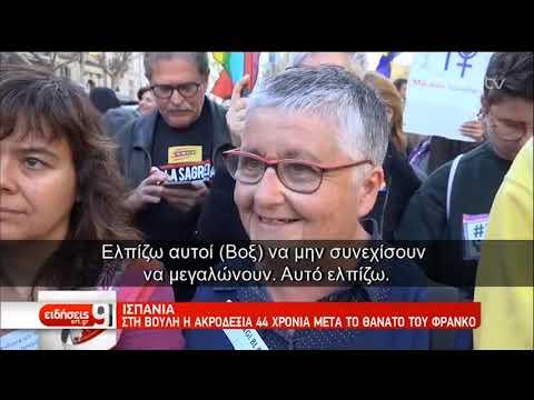 Ισπανία: Ανησυχία για την άνοδο της ακροδεξιάς | 24/3/2019 | ΕΡΤ
