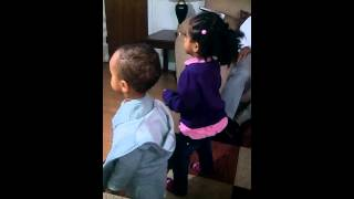 Abigail 2 Year Old Dancing With Ethiopian Music