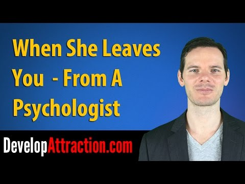 When She Leaves You (From A Psychologist)