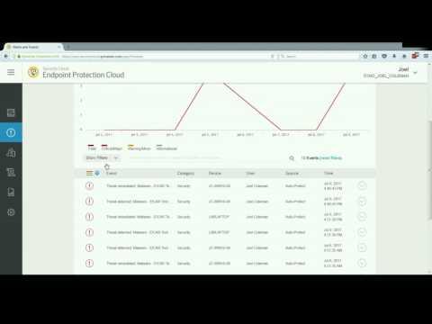 Symantec Endpoint Protection Cloud: Management Console Overview