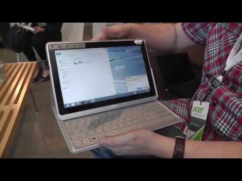 Acer Aspire P3 Hands On - Windows 8 Ultrabook