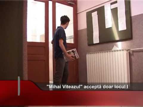 Mihai Viteazul acceptă doar locul I