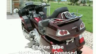 6. 2008 Honda Gold Wing Audio  Comfort  Navi -  Engine motorbike
