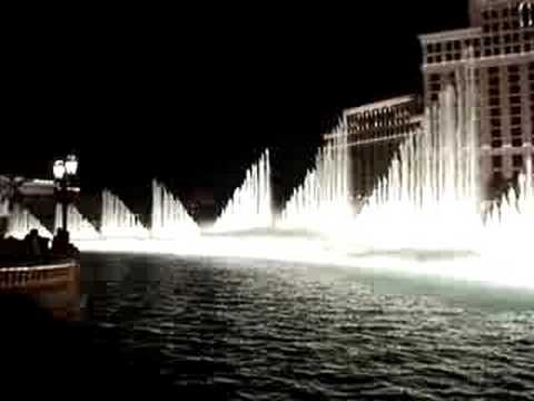 Bellagio Fountain - Luck Be A Lady Tonight - Frank Sinatra