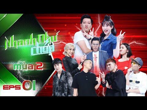 Nhanh Như Chớp Mùa 2 | Tập 01 Full HD: Trường Giang-Hari Won Đụng Phải Cặp Đôi Mượn Rượu Tỏ Tình - Thời lượng: 56:06.