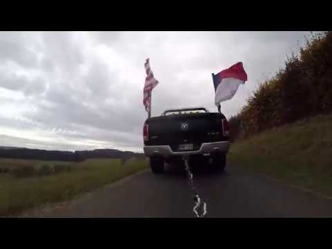 Dodge RAM Abschußtreffen Lindner Park Nürburgring Rallye Abfahrt 2