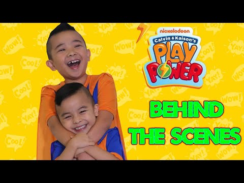 Behind The Scenes Nickelodeon Calvin Kaison's Play Power PART 2 CKN