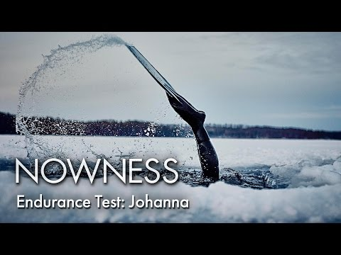 Under The Ice With Freediver Johanna Nordblad