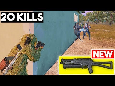 *NEW WEAPON* BIZON ONLY CHALLENGE! | 20 KILLS SOLO Vs SQUAD | PUBG Mobile🐼