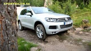 VW Touareg 2011 Test Drive Off Road