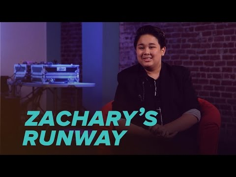 One-on-One With Project Runway Junior Finalist Zachary