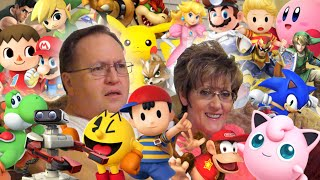 Stephen Georg's parents try to guess the Smash Bros. characters' names