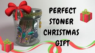 DIY Stoner Christmas Gift Idea: Stuffed Stash Jar by Chronic Crafter