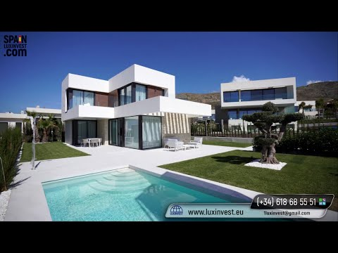 From 560 000€ Best luxury villas in Benidorm (Sierra Cortina). Residence permit as a gift! High-tech