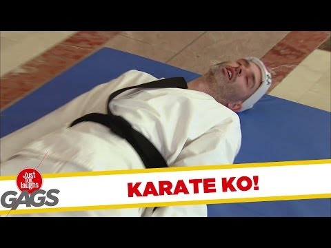 Karate Demonstration Fail Prank! - Youtube
